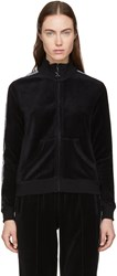 Opening Ceremony Black Limited Edition Velour Track Jacket