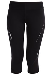 Craft 3 4 Sports Trousers Black