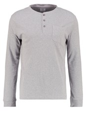 Burton Menswear London Long Sleeved Top Grey