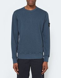 Stone Island Fleece Crewneck Dark Blue