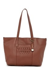 Lucky Brand Kingston Leather Tote Brown