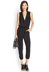 Forever 21 Contemporary Menswear Inspired Harem Jumpsuit
