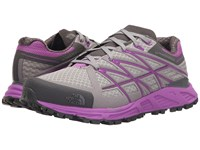 The North Face Ultra Endurance Foil Grey Sweet Violet Women's Shoes Gray