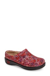 Alegria Women's 'Kayla' Clog Flora Fiesta Leather