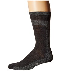 Smartwool Traverser Charcoal Marl Men's Crew Cut Socks Shoes Gray
