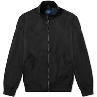 Polo Ralph Lauren Cotton Harrington Jacket Black