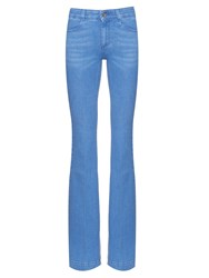 Stella Mccartney High Rise Flared Leg Jeans