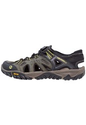 Merrell All Out Blaze Sieve Walking Sandals Olive Night