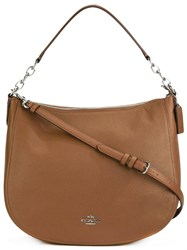 Coach Chelsea Hobo Tote Brown