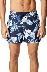 7 Diamonds Ocean Breeze Swim Trunks Navy