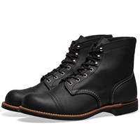 Red Wing Shoes 8084 Heritage 6 Iron Ranger Boot Black