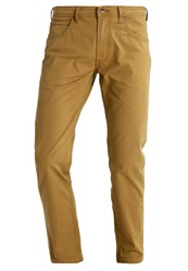 Lee Daren Zip Fly Trousers Gold Beige