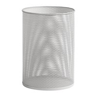 Hay Perforated Bin Large Light Gray