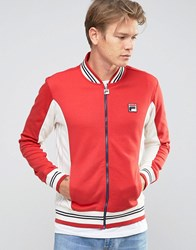 Fila Track Jacket Red