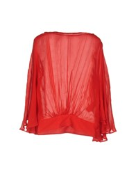 Intropia Blouses Red
