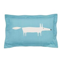 Scion Mr Fox Oxford Pillowcase Teal