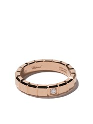 Chopard 18Kt Rose Gold Ice Cube Diamond Ring Unavailable