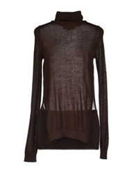 Adele Fado Turtlenecks Dark Brown