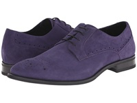 Stacy Adams Kensingston Purple Suede Men's Plain Toe Shoes