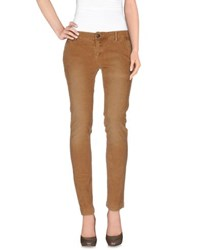 Monocrom Trousers Casual Trousers Women Camel