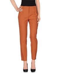 Paul And Joe Sister Casual Pants Rust