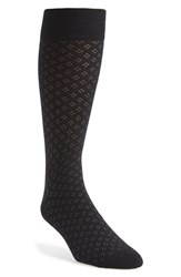 Men's The Tie Bar 'Speckled' Socks Black