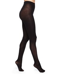 Alice Olivia Silk Effect Cashmere Blend Tights Black