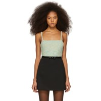 Marc Jacobs Green Bandeau Tank Top