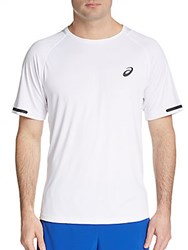 Asics Athlete Tee Real White