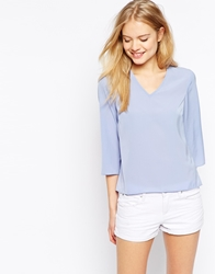 Vero Moda V Neck Shell Top Grape