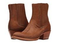 Lucchese Adele Natural Hair On Calf Women's Shoes Tan