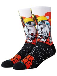 Stance Droids Socks Orange