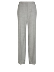 Aquascutum London Chiltern Geo Weave Trouser Grey