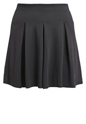Teddy Smith Jasmin Pleated Skirt Noir Black