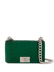Marc Ellis Quilted Crossbody Bag Green