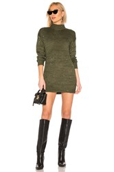 Lovers Friends Lotus Sweater Dress Olive