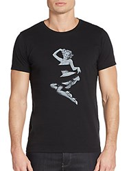 Tee Library Pin Up Girl Graphic Tee Black