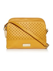 Dickins And Jones Roseland Small E W Crossbody Yellow
