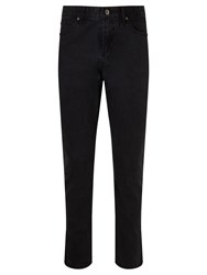 John Lewis Headland Washed 5 Pocket Trousers Charcoal