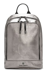 Vince Camuto 'Small Rizzo' Leather Backpack Brushed Copper Black Coated
