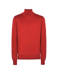 8 Knitwear Turtlenecks Red