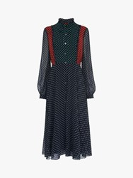 Lk Bennett L.K.Bennett Filia Polka Dot Shirt Dress Multi