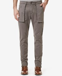 Buffalo David Bitton Men's Cameron X Cargo Pants Cleaned And Classic Steel