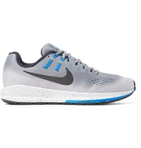 Nike Running Air Zoom Structure 20 Shield Mesh Sneakers Gray
