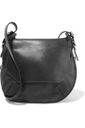 Rag And Bone Bradbury Faux Leather Shoulder Bag Black