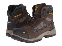 Caterpillar Compressor 6 Waterproof Composite Toe Clay Men's Work Boots Tan