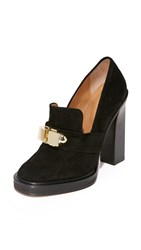 Carven Leather Heels Black
