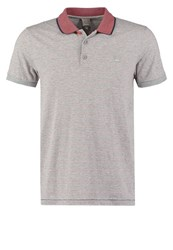 Bench Curl Polo Shirt Grey Marl Mottled Grey