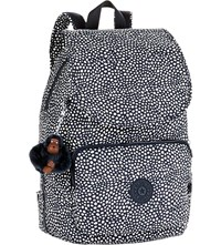 Kipling Cayenne Small Nylon Backpack Dot Dot Dot