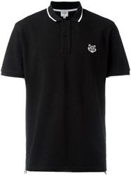 Kenzo Mini Tiger Polo Shirt Black
